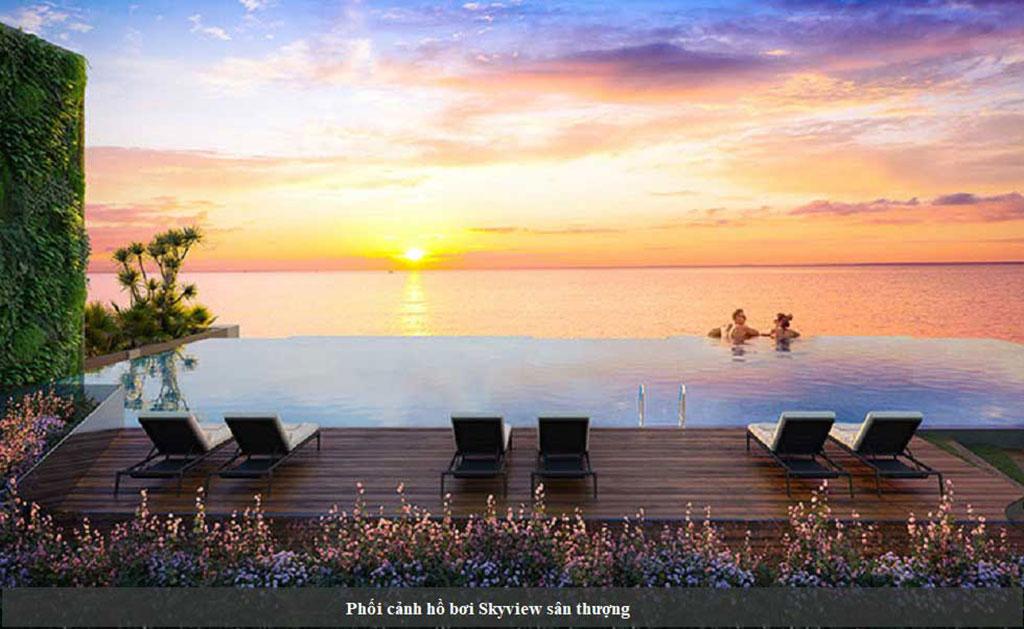 Tiện ích hồ bơi skyview Vũng Tàu Pearl