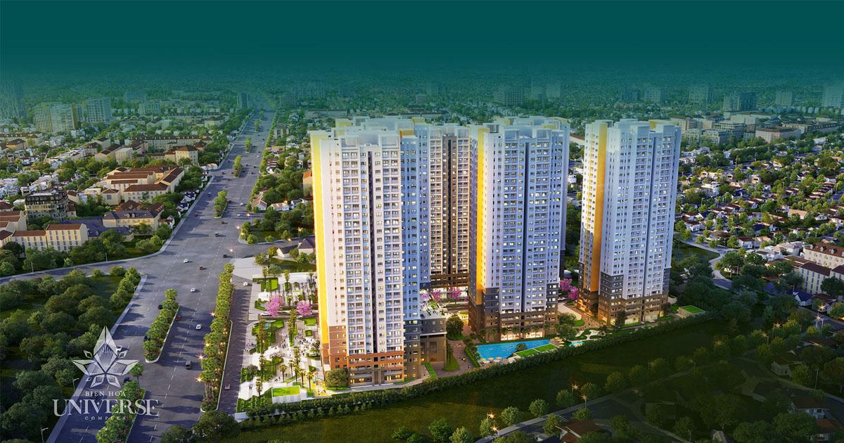 Dự án căn hộ thông minh CĐT Hưng Thịnh Biên Hòa Universe Complex