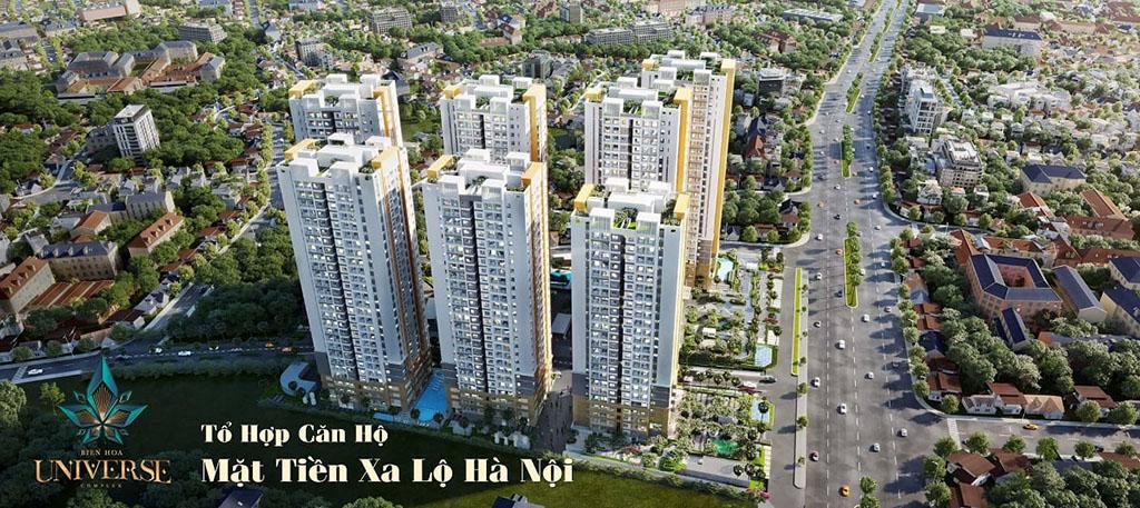 Thông tin tổng quan dự án căn hộ Biên Hòa Universe Complex