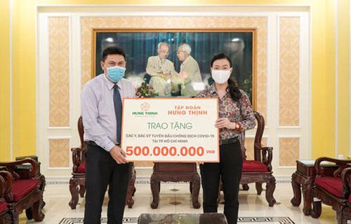 Các sự kiện nổi bật đóng góp cho xã hội gây ấn tượng của Tập đoàn Hưng Thịnh