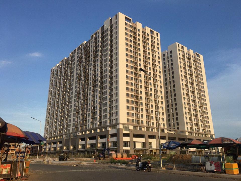 Hình ảnh tiến độ thực tế dự án Shophouse Q7 Boulevard Hưng Thịnh