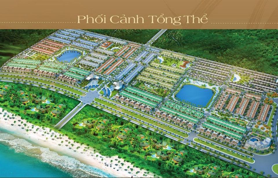 Phối cảnh tổng thể dự án đất nền Golden Bay Cam Ranh