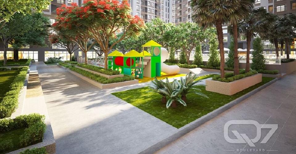 Tiện ích dự án Q7 Boulevard - Khu vui chơi trẻ em