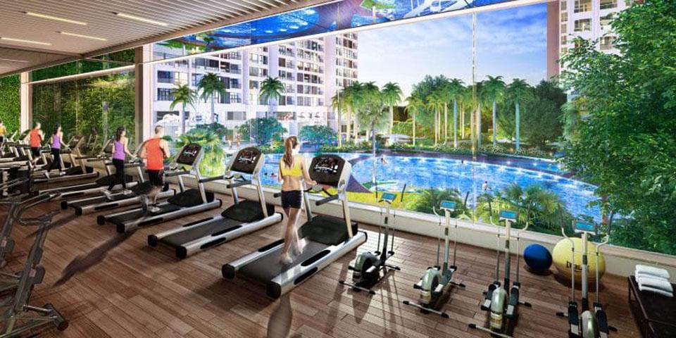 Tiện ích dự án Q7 Boulevard - Phòng Gym