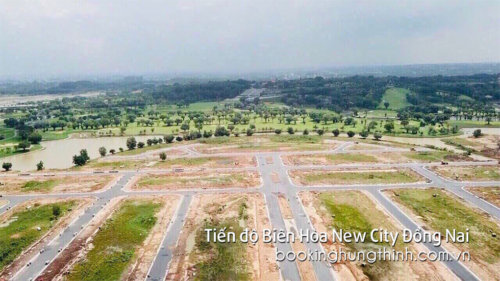 Tiến độ thi công công trình dự án Biên Hòa New City Đồng Nai - Hưng Thịnh Land