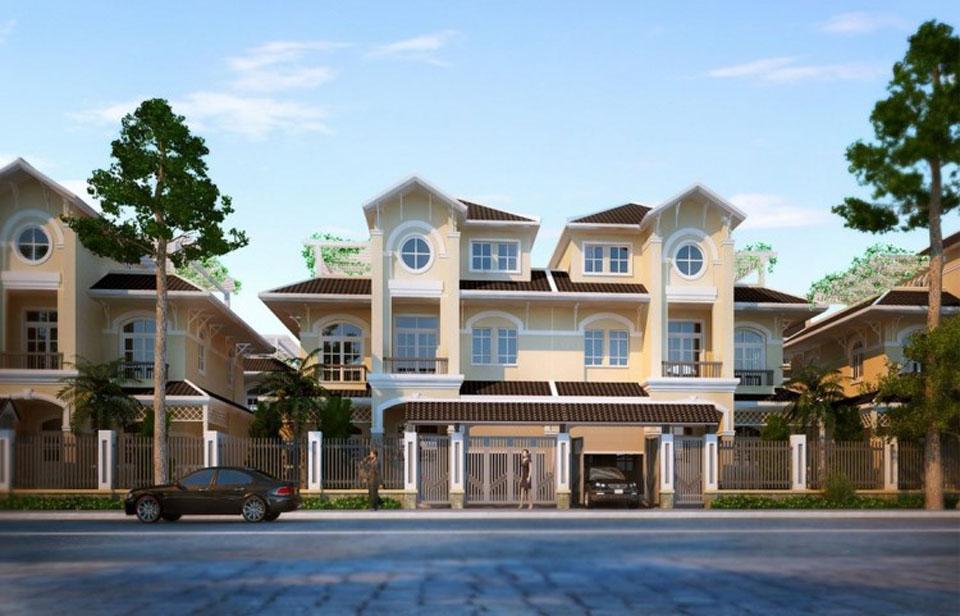 Thiết kế mẫu biệt thự Golden Bay