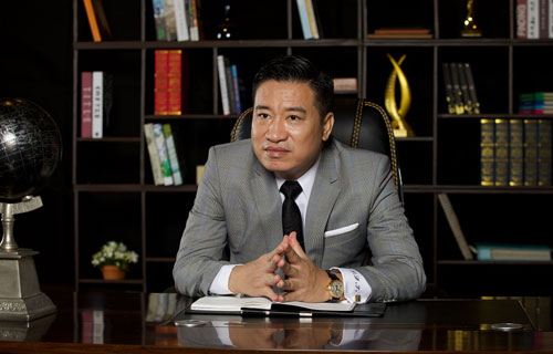Ông Nguyễn Đình Trung, chủ tịch Hưng Thịnh.