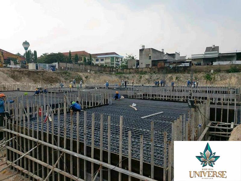 Tiến độ dự án tháng 03/2021 Biên Hòa Universe Complex