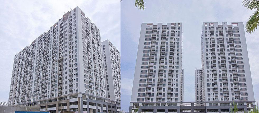 Hình ảnh tiến độ dự án Q7 Boulevard