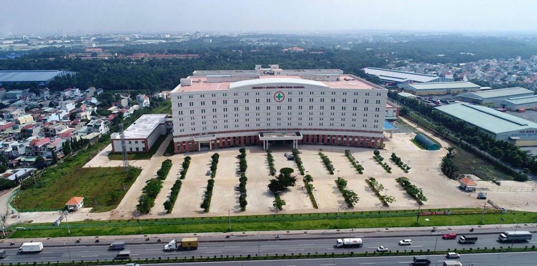 Bệnh viên quốc tế Shing Mark (1500 giường bệnh) - Biên Hòa New City