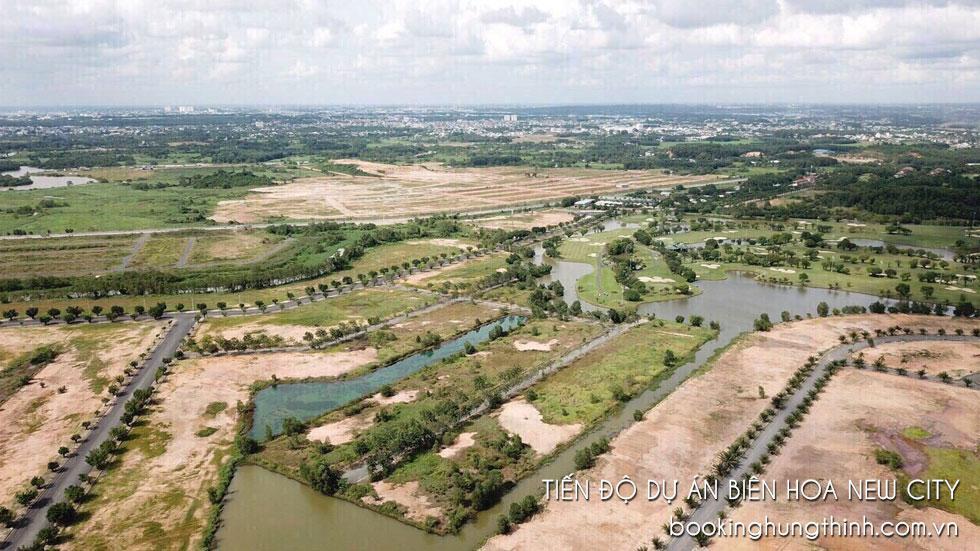 Tiến độ thi công xây dựng Bien Hoa New City năm 2021