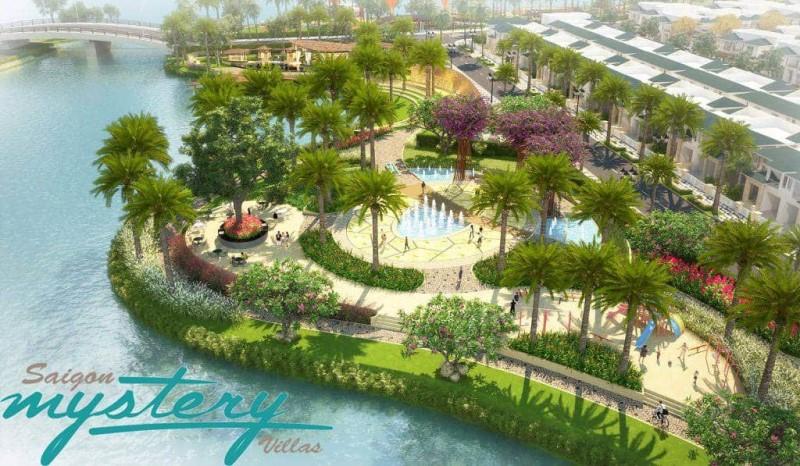 Tiện ích công viên dự án Saigon Mystery quận 2