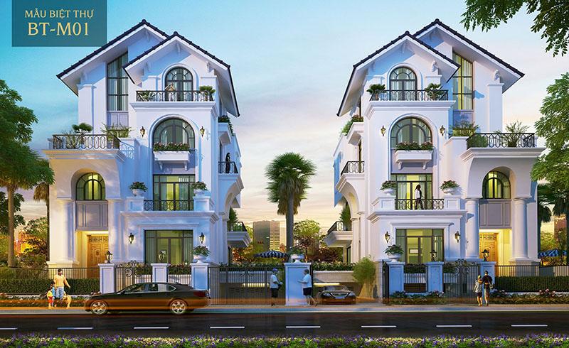 Phối cảnh biệt thự Saigon Mystery Villas quận 2