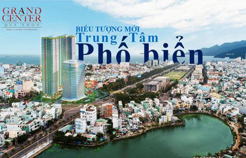 Đầu tư dự án Hưng Thịnh Quy Nhơn Grand Center