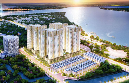Tiến độ căn hộ Q7 Sài Gòn Riverside tháng 03/2021