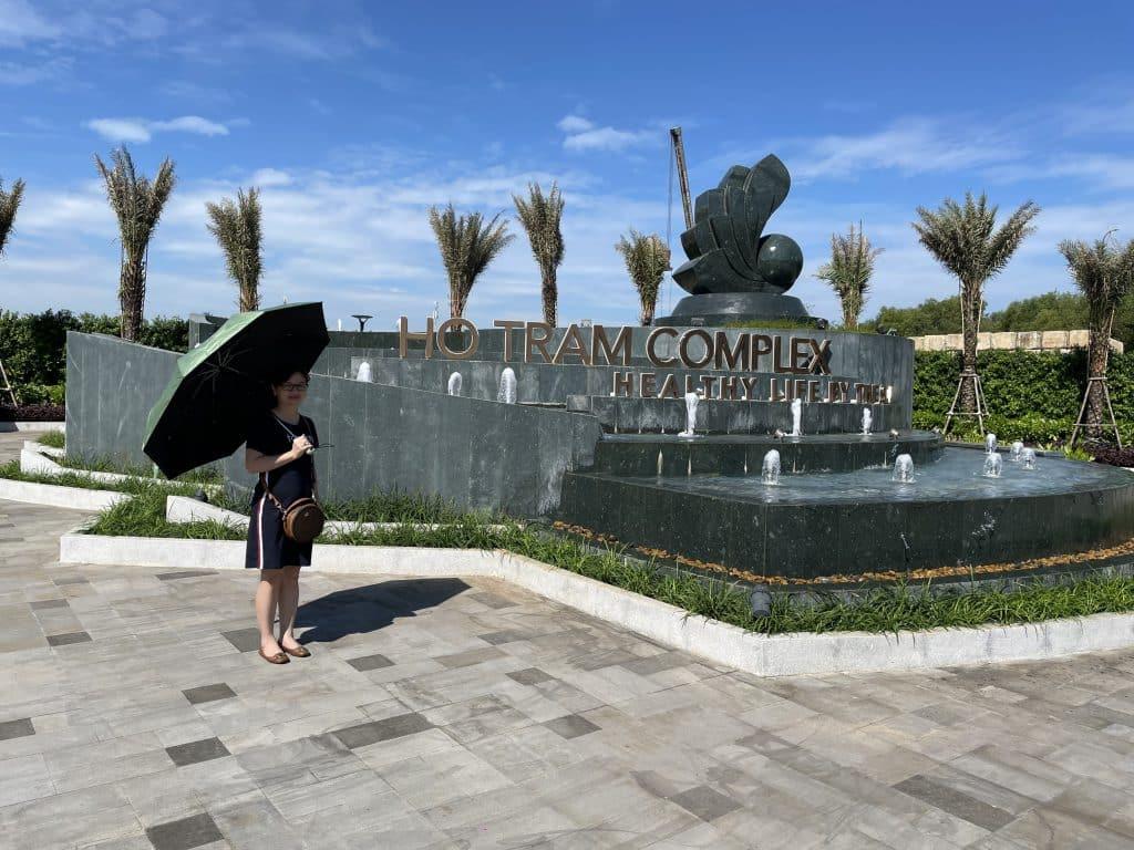 Hình tiến độ dự án Hồ Tràm Complex