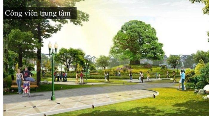 Tiện ích công viên trung tâm Sentosa Villa Mũi Né