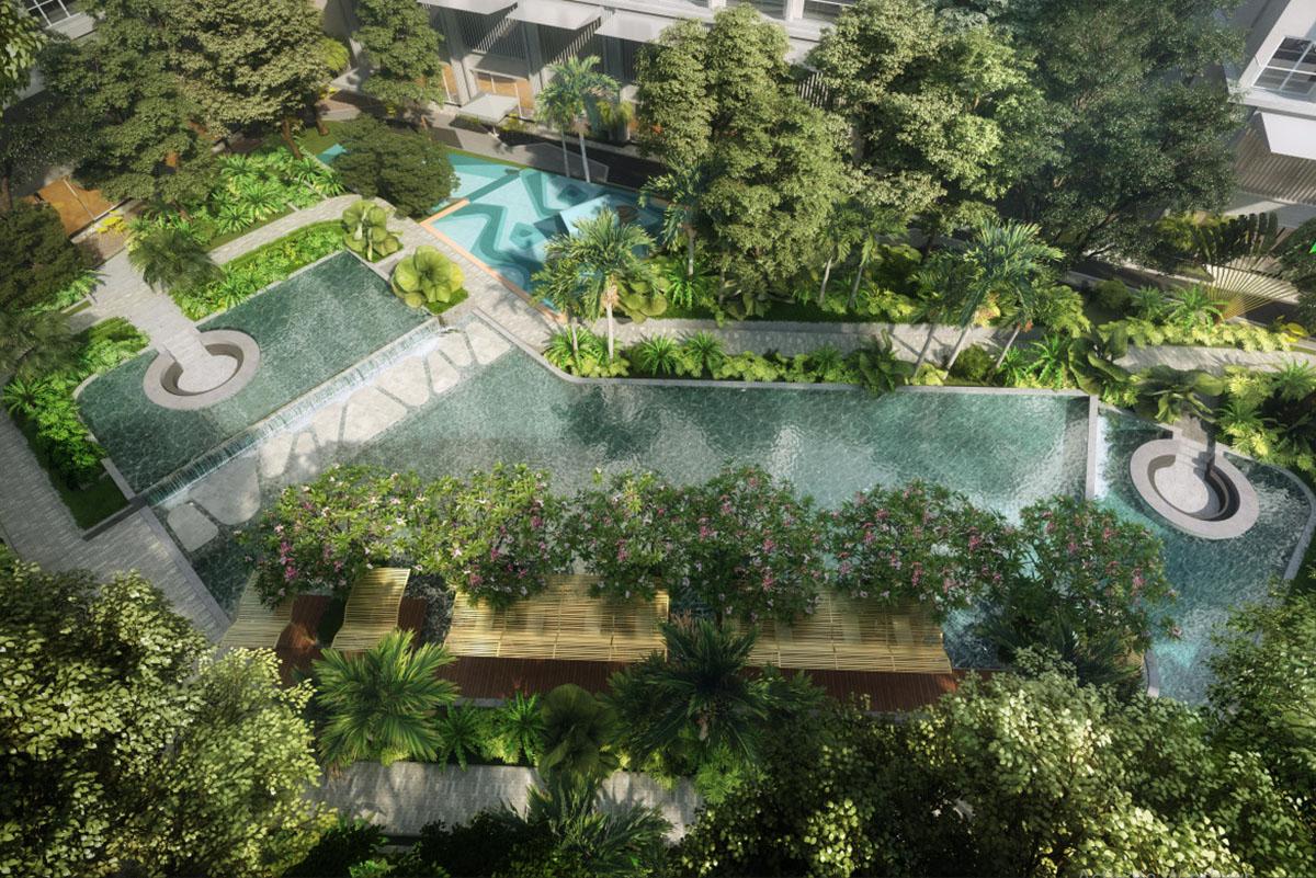 Tiện ích công viên dự án Lavita Hưng Thịnh