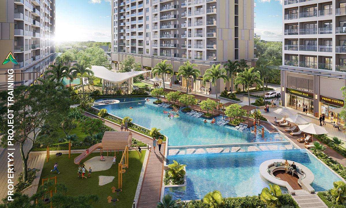 Tiện ích hồ bơi dự án Lavita Hưng Thịnh