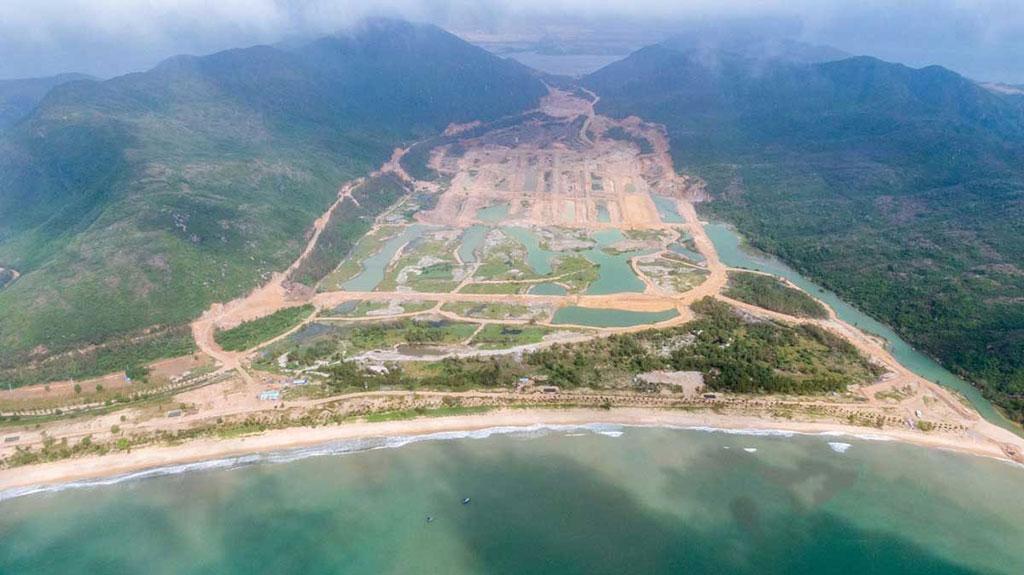 Hình ảnh tiến độ triển khai dự án Hải Giang Hưng Thịnh