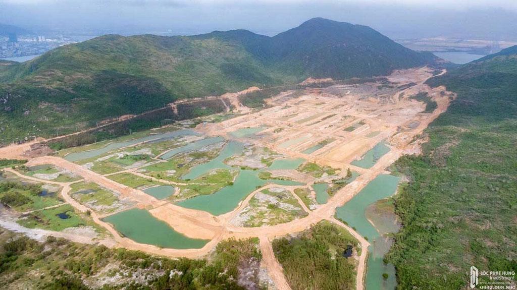 Mặt bằng thực tế Hải Giang Merry Land Quy Nhơn chủ đầu tư Hưng Thịnh