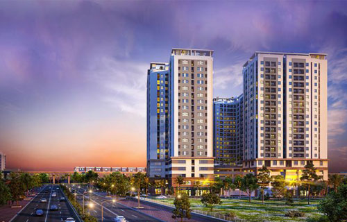 Dự án căn hộ cao tầng tại thị trường bất động sản Bình Dương