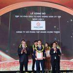 Tập đoàn Hưng Thịnh danh dự có mặt top 10 CĐT bất động sản uy tín