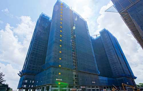 Cập nhật tiến độ Q7 Saigon Riverside Hưng Thịnh từ Tháng 5/2021