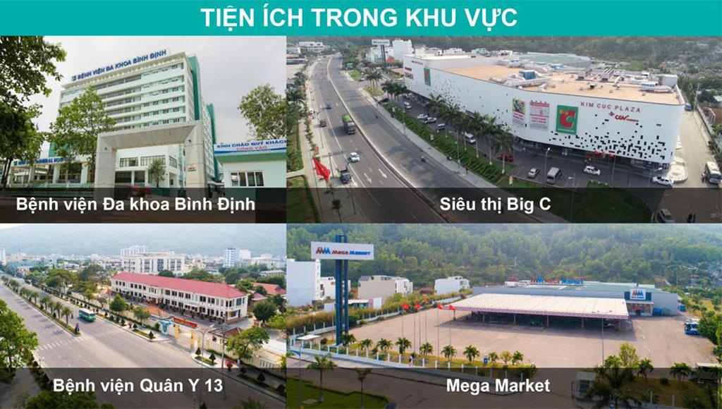 Tiện ích ngoại khu dự án Hải Giang Merry Land