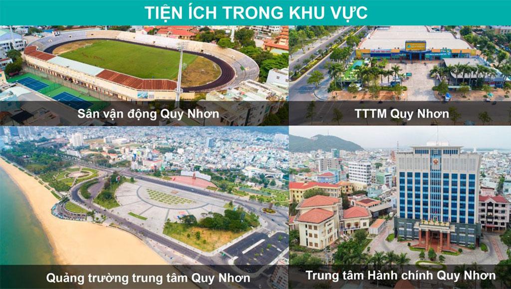 Tiện ích liên kết dự án Hải Giang Merry Land