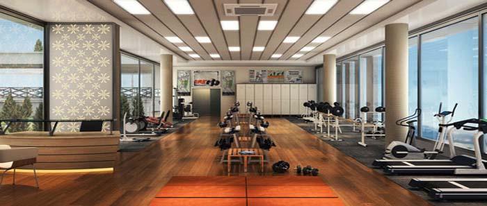 Tiện ích gym của căn hộ Floria quận 7