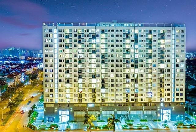Hình ảnh tiến độ dự án căn hộ Florita quận 7
