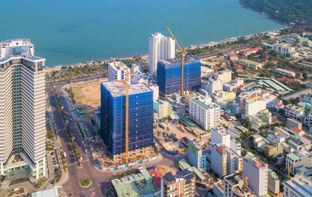 Hình ảnh tiến độ Quy Nhơn Melody Hưng Thịnh tháng 06/2021