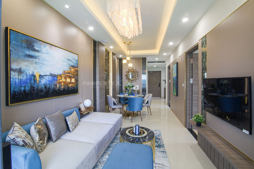 Mẫu căn hộ tại dự án Tây Nam Linh Đàm