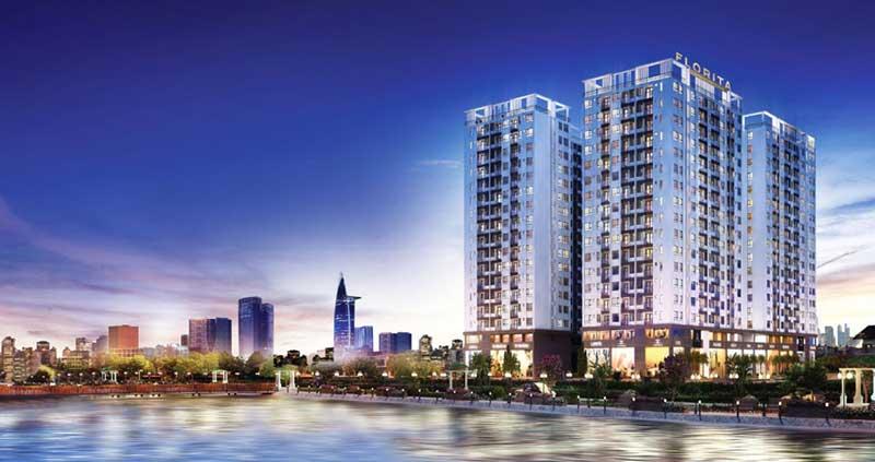 Phối cảnh dự án Hưng Thịnh Q7 Boulevard