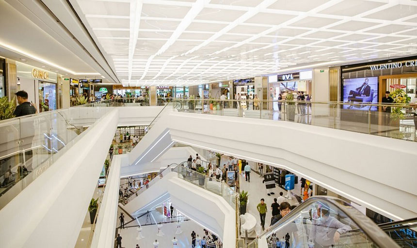 Tiện ích trung tâm thương mại chung cư Tây Nam Linh Đàm