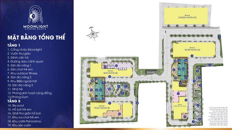 Tham khảo mặt bằng dự án Centre Point Tên Lửa Bình Tân