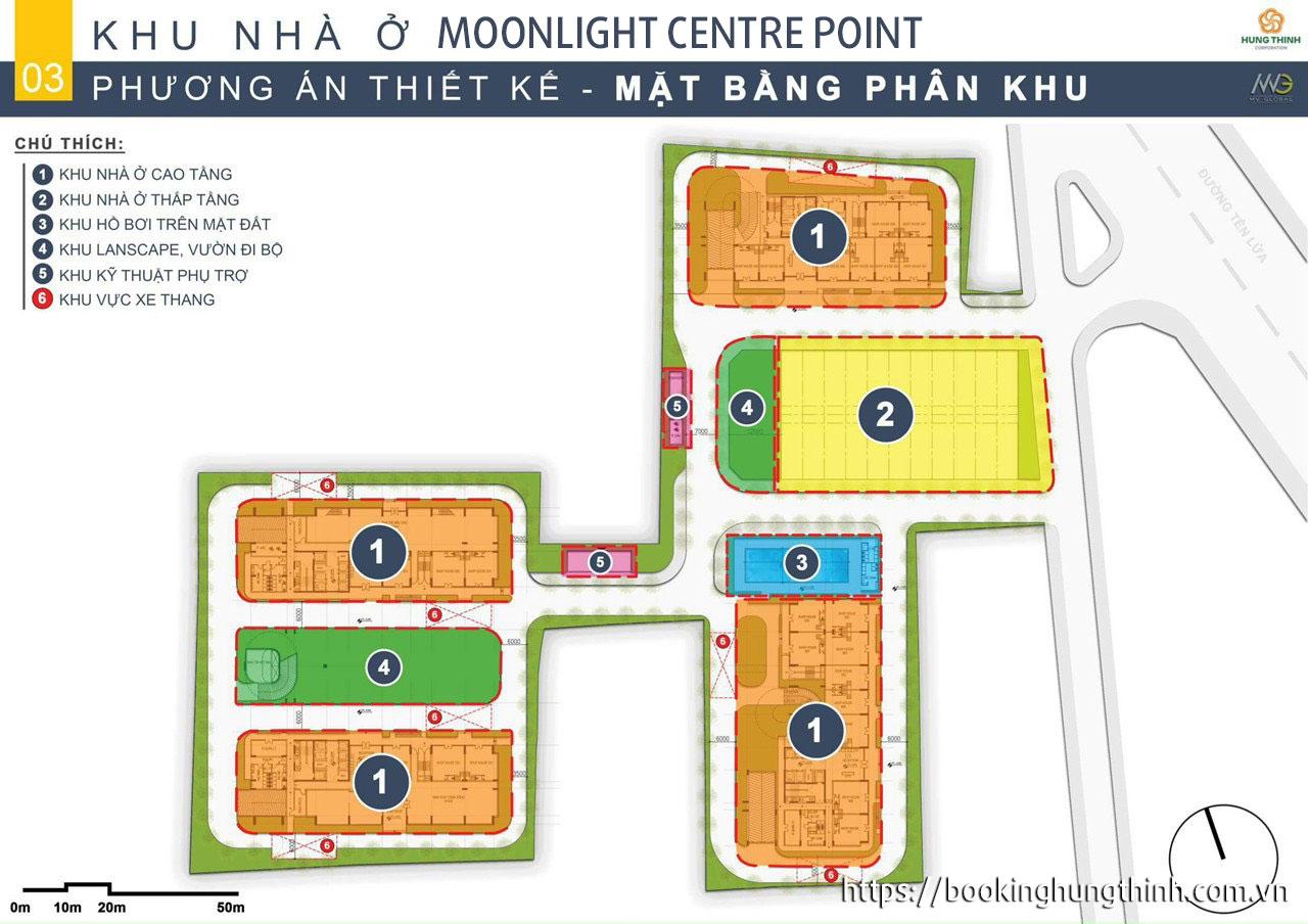 Mặt bằng dự án căn hộ moonlight centre point bình tân, chung cư moonlight complex
