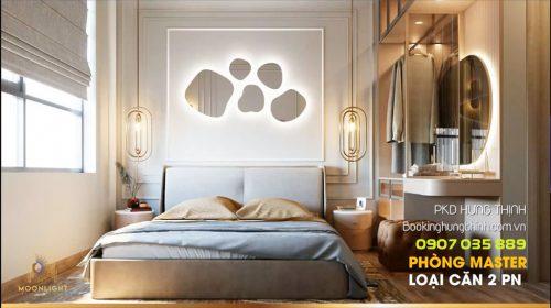 Thiết kế căn hộ Moonlight Centre Point Bình Tân - 2 phòng ngủ