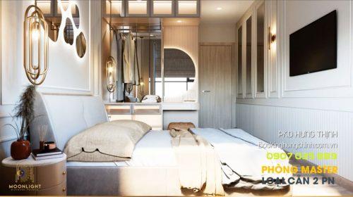 Nhà mẫu căn hộ Moonlight Centre Point khu tên lửa - 2 phòng ngủ