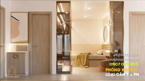 Phòng khách chung cư Moonlight Centre Point Bình Tân