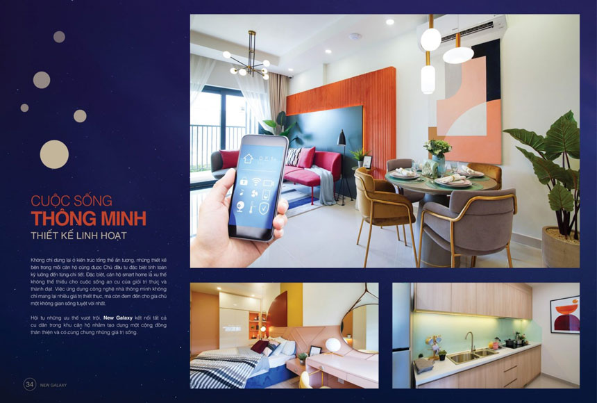 Nhà mẫu căn hộ Moonlight Complex