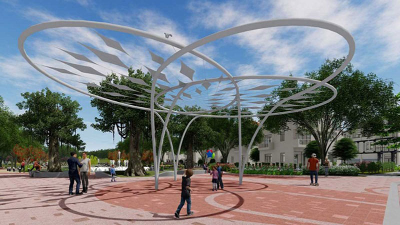 Tiện ích công viên dự án căn hộ An Viên Nha Trang