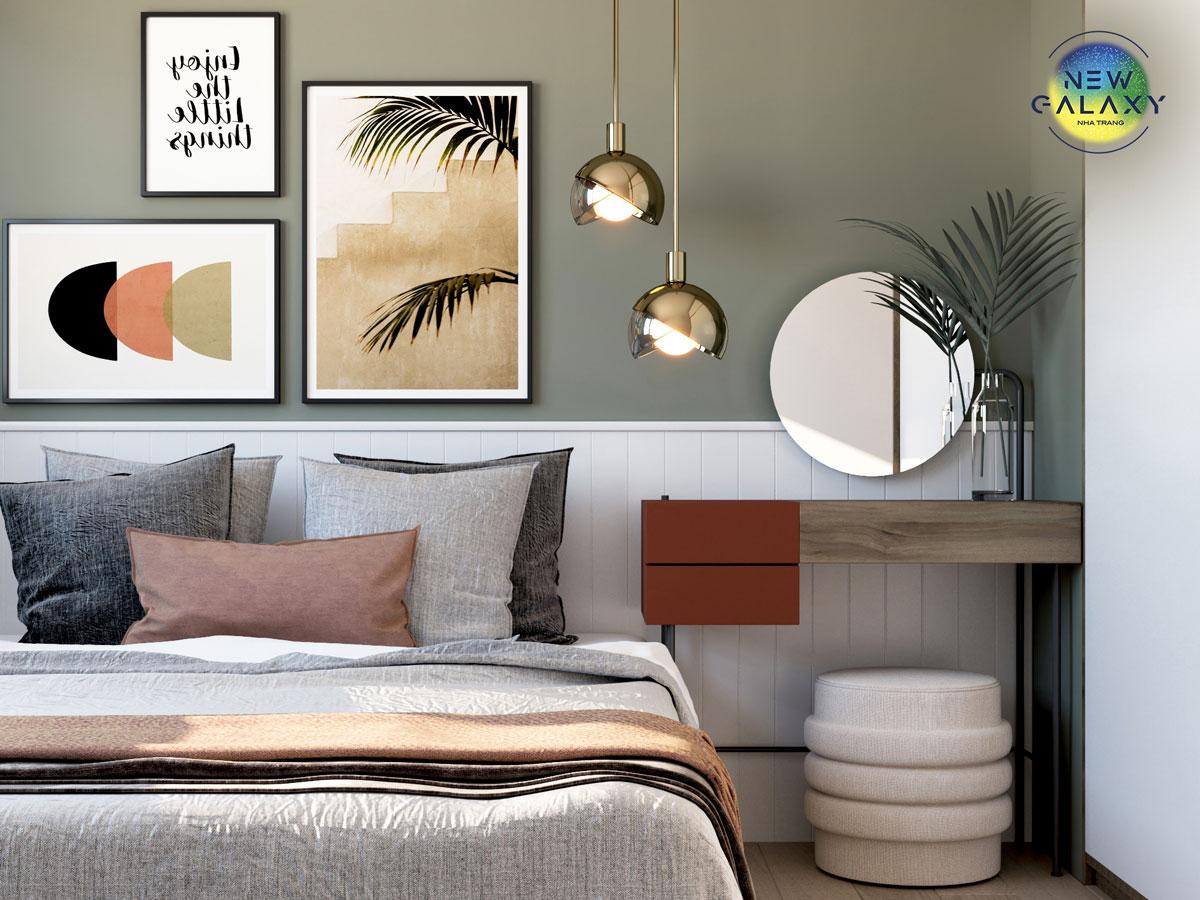 Phòng ngủ dự án New Galaxy Nha Trang