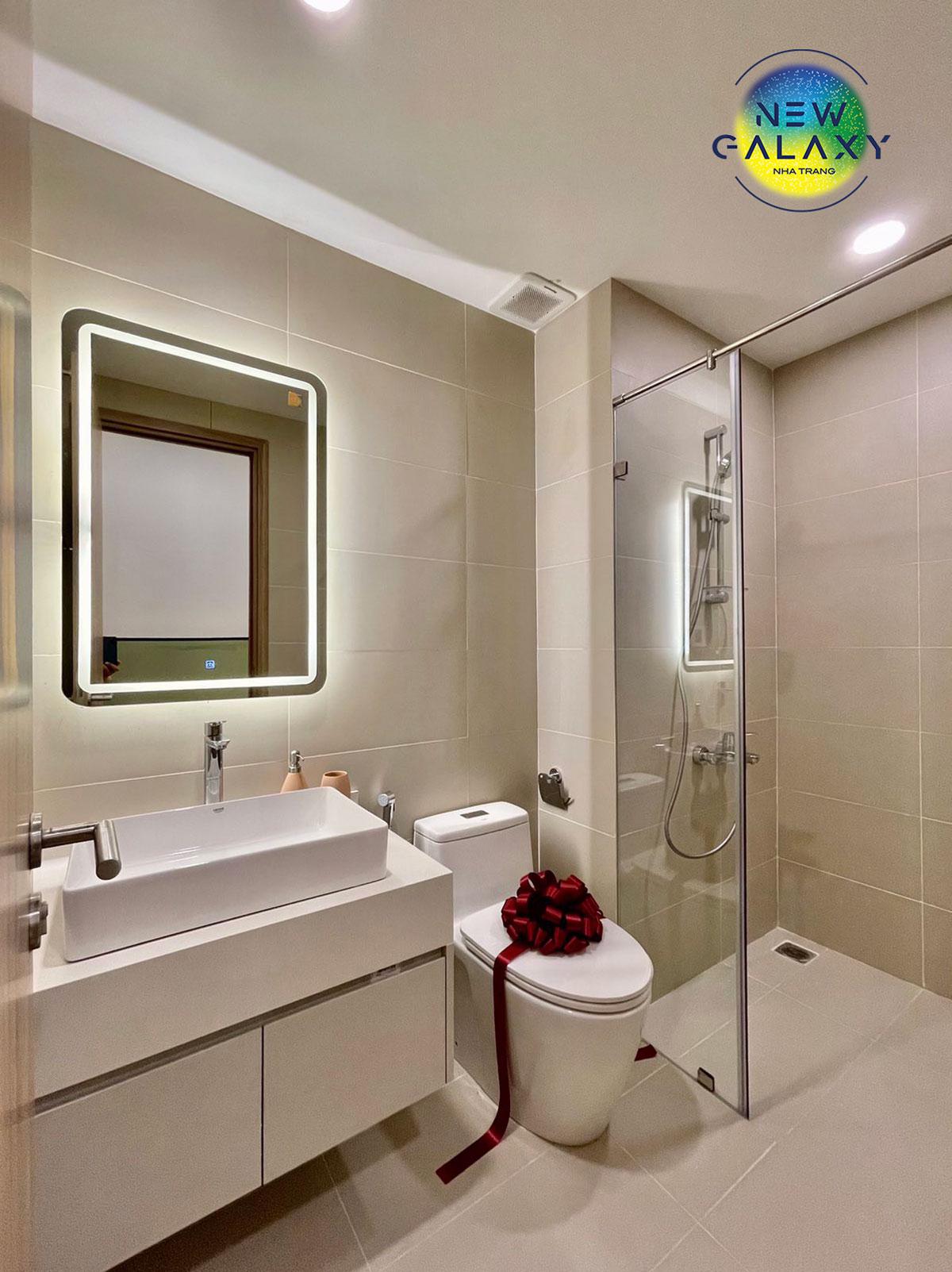 Phòng WC mẫu căn hộ New GalaxyNha Trang